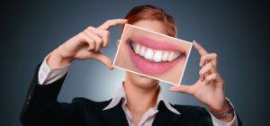 saubere zähne