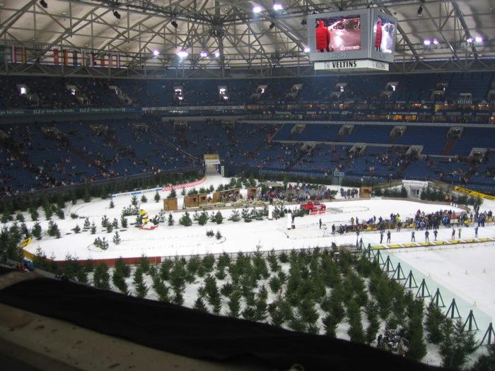 biathlon auf schalke arena