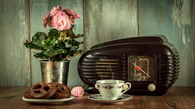 altes küchenradio